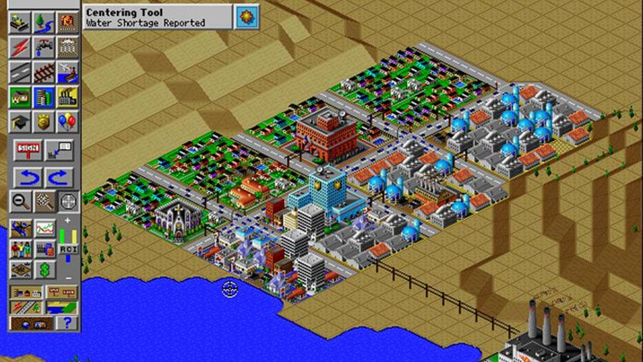 Screenshot of SimCity 2000