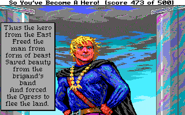 Hero Quest 1 end screen