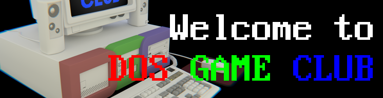 Welcome to DOS Game Club