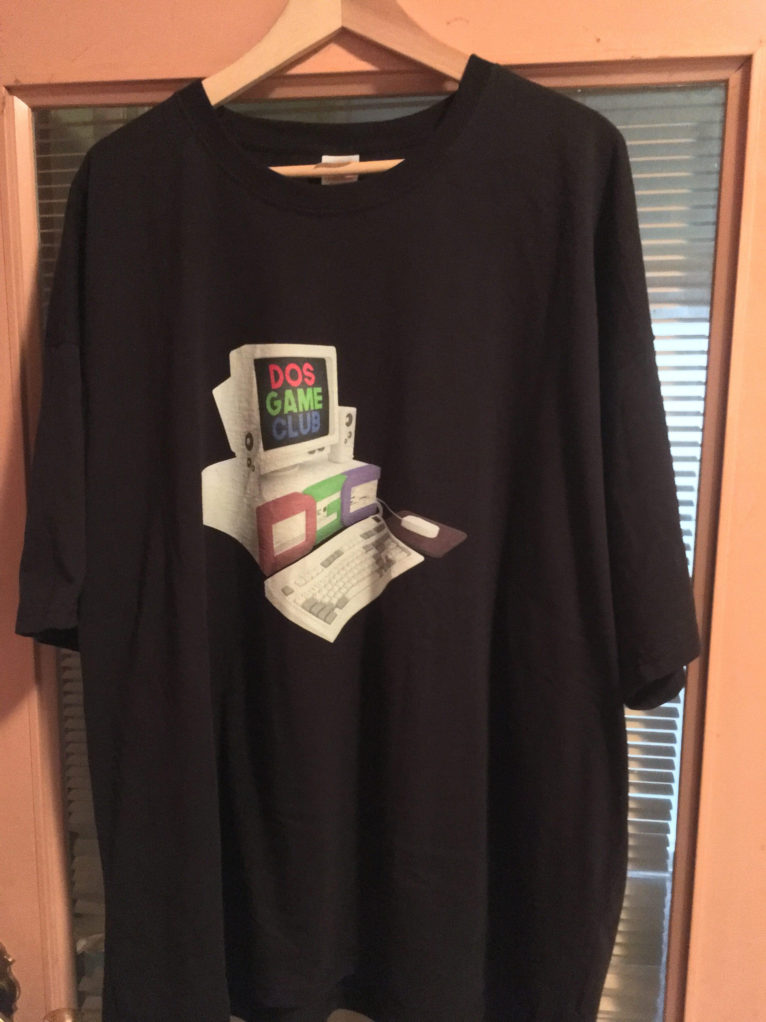 DOS Game Club T-shirt