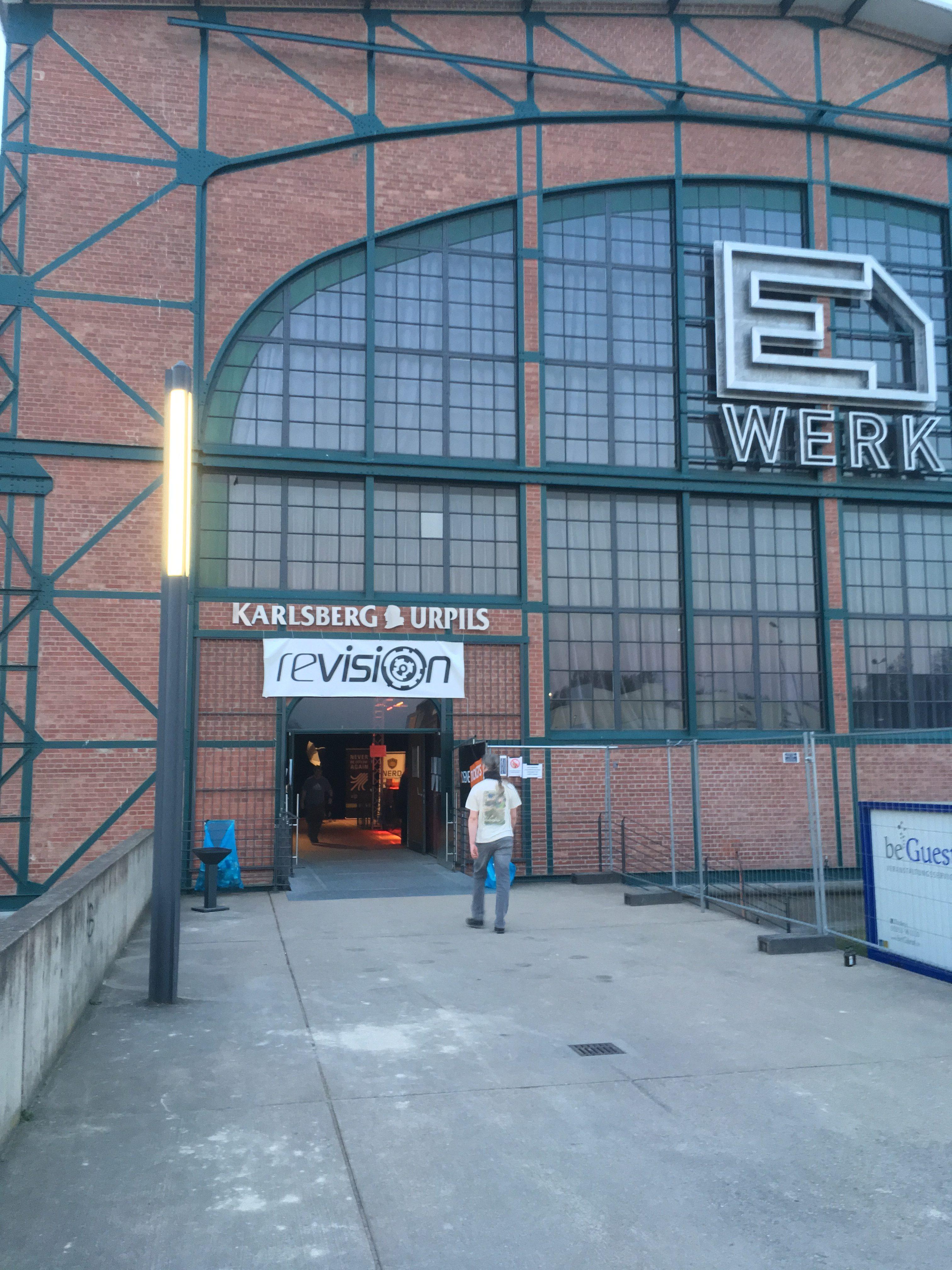 Revision 2019 entrance