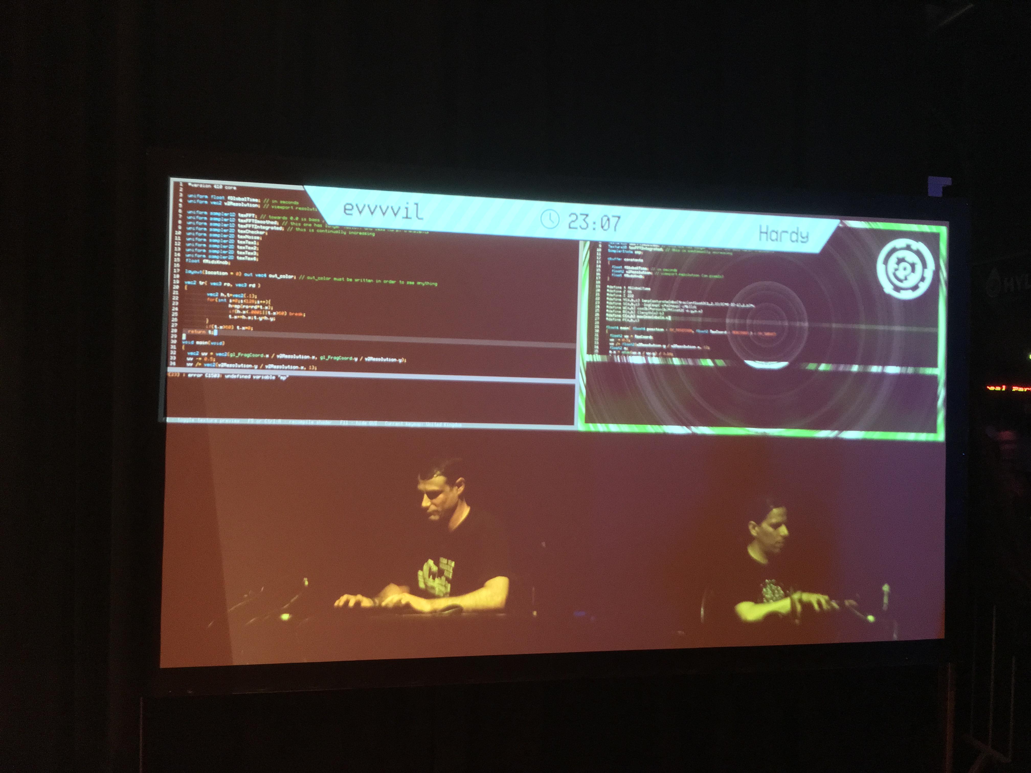 Revision 2019 live shader coding